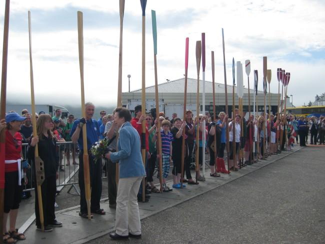 St Ayles Skiff Oars and Oarlocks